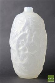 Sale 8516 - Lot 85 - Rene Lalique Ronce Opalescent Vase