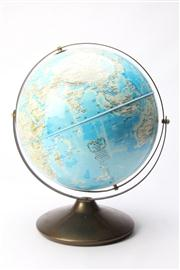 Sale 8670 - Lot 34 - Globe on Stand