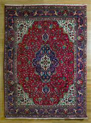 Sale 8693C - Lot 7 - Persian Tabriz 294cm x 212cm -