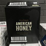 Sale 8801W - Lot 91 - 6x Wild Turkey American Honey Bourbon Whiskey, 700ml