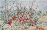 Sale 8867 - Lot 554 - Daisy Rossi (1879 - 1974) - Sturt Desert Piece 53 x 83.5 cm