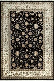 Sale 8370C - Lot 70 - Jaipor Silk & Wool 165cm x 240cm
