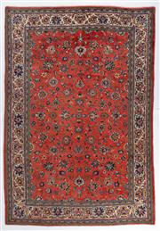 Sale 8372C - Lot 75 - A Persian Sarough 100% Wool Pile , 294 x 200cm