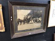 Sale 8824 - Lot 2089 - Vintage Photo in Oak Frame