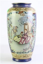 Sale 8902 - Lot 90 - Chinese Decorative Vase Featuring European Scene (H38cm)