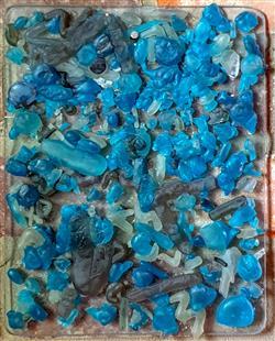 Sale 9093A - Lot 5099 - Stephen Skillitzi - Wall Piece no. 5 h.28 x w. 22.5 cm