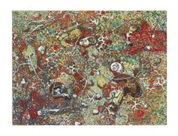 Sale 9245J - Lot 94 - Reinis Zusters - Abstract signed lower right