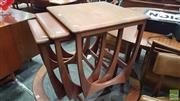 Sale 8409 - Lot 1059 - G-Plan Teak Nest of Tables