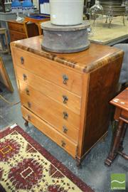 Sale 8440 - Lot 1042 - Timber Chest of Drawers