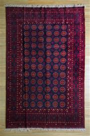 Sale 8693C - Lot 9 - Afghan Qunduzi 297cm x 200cm