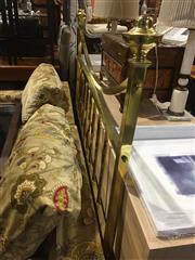 Sale 8826 - Lot 1093A - Brass Bed Head
