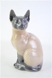 Sale 8844O - Lot 532 - Royal Copenhagen Cat Figure H19cm