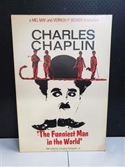 Sale 8958 - Lot 2082 - A Charles (Charlie) Chaplin Theatre Poster, 101 x 68cm