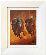 Sale 8964 - Lot 2012 - John Vander Race Study oil on canvas, 48 x 40cm (frame), signed lower right