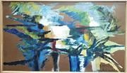 Sale 9058 - Lot 2023 - Charles Bannon (1919 - 1993) - Arnhem Land, 1964 frame: 51 x 79 cm