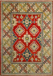 Sale 8338C - Lot 29 - Afghan Kazak 244cm x 176cm