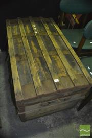 Sale 8383 - Lot 1475 - Timber Bound Trunk