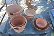 Sale 8390 - Lot 1342 - Collection of Terracotta Planters