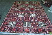 Sale 8404 - Lot 1012 - Persian Bakhtiari (302 x 207cm)