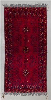 Sale 8493C - Lot 20 - Afghan Qunduzi 205cm x 105cm
