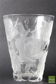 Sale 8516 - Lot 57 - Lalique Ispahan Vase