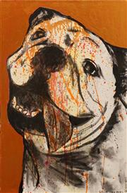Sale 8665A - Lot 5031 - Gillie and Marc - Untitled (Pitbull) 76 x 51cm