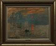 Sale 8699 - Lot 2022 - Claude Monet - Fishing Boat Print 45 x 58cm