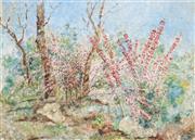 Sale 8867 - Lot 555 - Daisy Rossi (1879 - 1974) - Wildflowers 58 x 80.5 cm