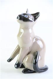 Sale 8957 - Lot 1 - B & G porcelain figure of a cat (H14cm)