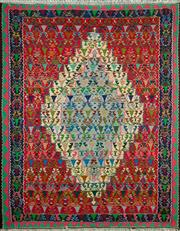 Sale 8338C - Lot 30 - Persian Somak 151cm x 122cm