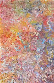 Sale 8408 - Lot 520 - Polly Ngale (c1936 - ) - Bush Plum 150 x 98cm