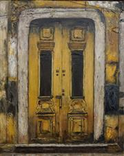 Sale 8791A - Lot 5087 - Stanley Perl (1942 - ) - Doors of India, no. 8 50.5 x 40.5cm