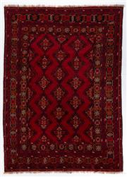 Sale 8372C - Lot 62 - An Afghan Kondoosi 100% Wool On Cotton Foundation And Natural Dyes, 295 x 209cm