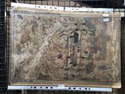 Sale 8784 - Lot 2033 - After Nishimura Shigenanga (1697 - 1758) - The Nirvana of Shakyamuni Buddha, colour woodcut, 45.5 x 30cm (unframed) -