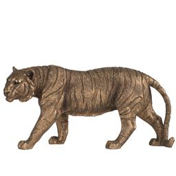 Sale 9134H - Lot 88 - A gilt tiger statue, Length 29cm