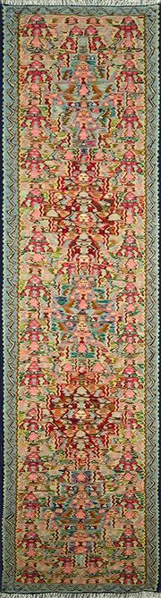 Sale 8338C - Lot 31 - Persian Somak 225cm x 62cm