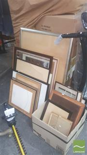 Sale 8446 - Lot 2021 - Large Collection of Various Sized Frames