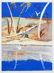 Sale 8467 - Lot 514 - Arthur Boyd (1920 - 1999) - River Bride Landscape II 82 x 61cm