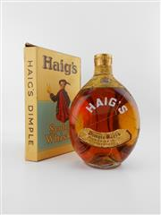 Sale 8498 - Lot 2026 - 1x Haig Dimple Blended Scotch Whisky - old bottling, in box