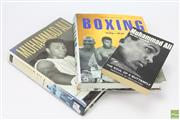 Sale 8618 - Lot 32 - Set Of Three Books On Boxing Including Two On Muhammad Ali