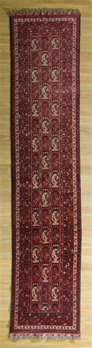 Sale 8693C - Lot 12 - Afghan Qunduzi 362cm x 78cm
