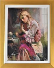 Sale 8778A - Lot 5031 - Pino Daeni - Love 54 x 64cm (frame)