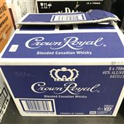 Sale 8801W - Lot 93 - 6x Crown Royal Canadian Whisky, 750ml