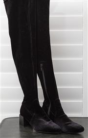 Sale 8902H - Lot 166 - A pair of Mimco black over-the-knee boots with zipper, size 36
