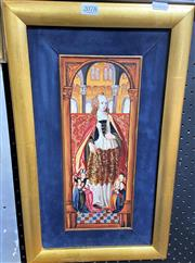 Sale 9058 - Lot 2078 - Artist Unknown - St. Philomena 48 x 29 cm