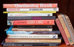 Sale 9103M - Lot 488 - A shelf lot of books including art reference books.