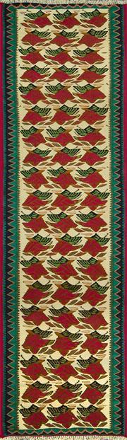 Sale 8338C - Lot 32 - Persian Somak 203cm x 62cm