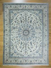 Sale 8643C - Lot 6 - Super Fine Persian Nain Silk Inlaid 379cm x 290cm