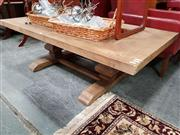 Sale 8688 - Lot 1018 - Oak Parquetry Coffee Table