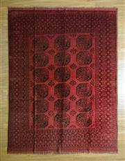 Sale 8693C - Lot 13 - Afghan Turkman 268cm x 200cm